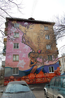 graffiti en moscu