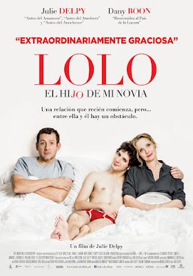Lolo, el hijo de mi novia -  Julie Delpy - cartel