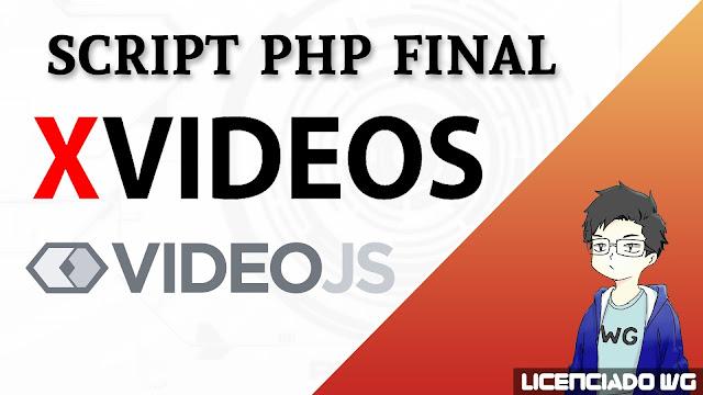 Xvideos VideoJS Script Final