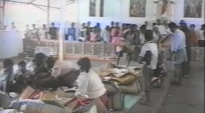 மடு தேவாலயப் படுகொலை  தமிழ் மக்கள் உயிர் நீத்த நினைவு நாள்