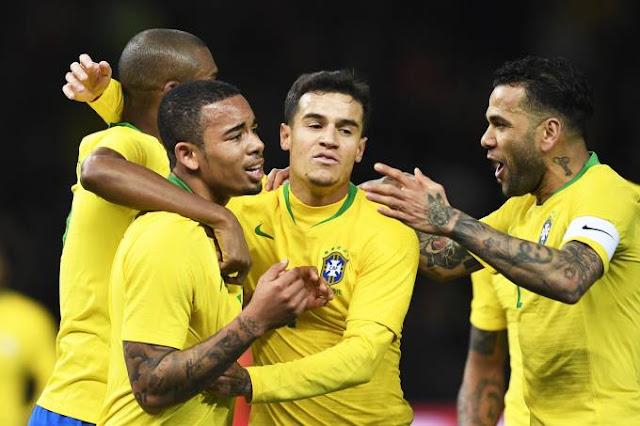 Brasil vence Alemanha nesta terça-feira 1 a 0