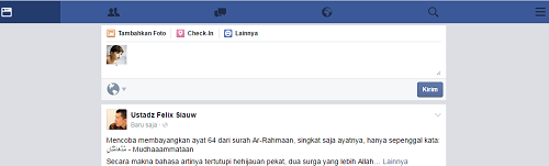 login facebook versi dasar