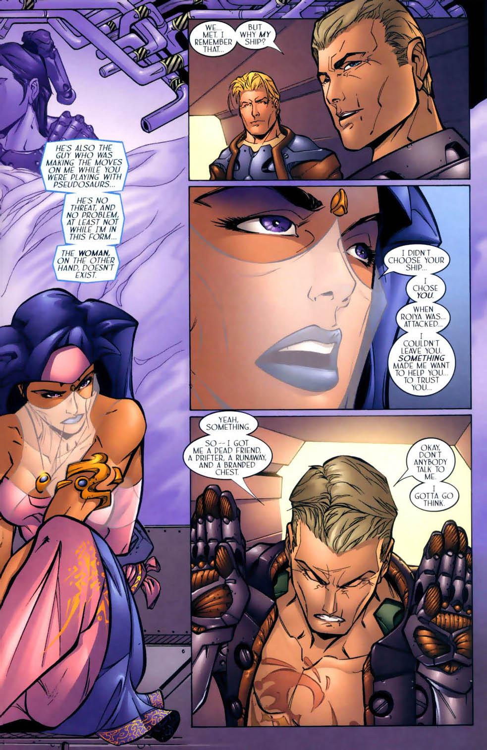 Read online Sigil (2000) comic -  Issue #2 - 12