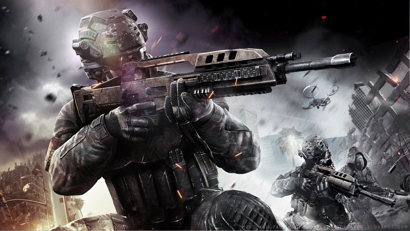 Call Of Duty Black Ops 2 Wallpaper Cool Games Wallpaper