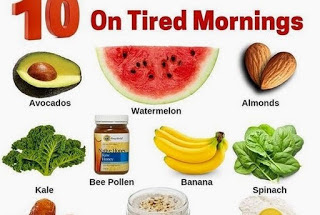 Weight Loose Tips: Top ten Foods To Eat On Tired Mornings.