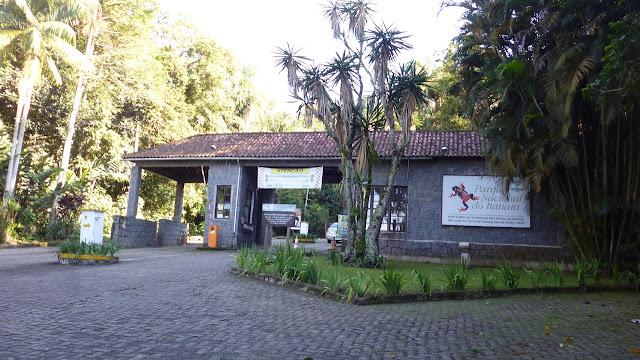 Entrada do Parque Nacional de Itatiaia