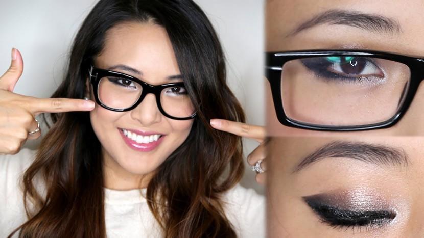 2b584d0bd7 SALUD Y BELLEZA: Trucos Para Maquillar Ojos Con Gafas