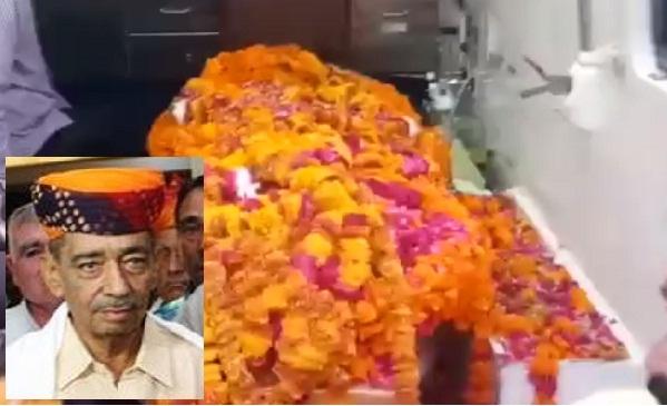 Jaipur, Ajmer, Rajasthan, Sanwar Lal Jat, BJP, Death of Sanwar lal Jat, Sawar Lal Jat Death, Rajasthan News