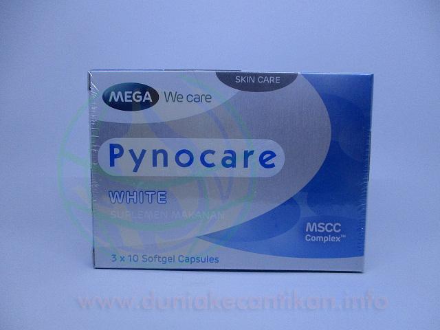 Pynocare White Suplemen Pemutih Yang Bisa Mengobati Flek Hitam