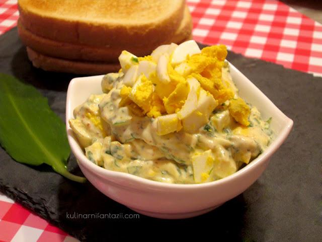 Разядка от варени яйца и горчица