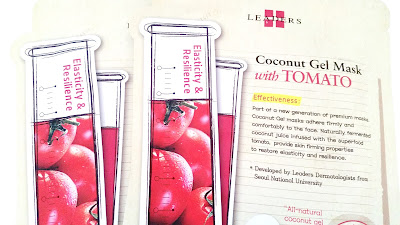 Leaders Insolution Coconut Gel Mask with Tomato