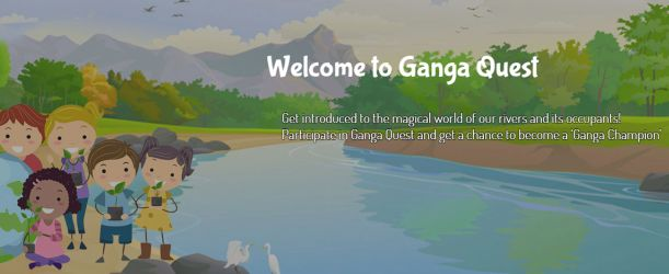 Ganga Quest - Online Quiz for students