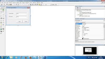Membuat Koding Logout Aplikasi Perpus VB 6.0