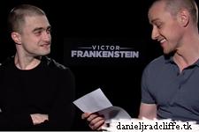 Updated: Victor Frankenstein press junket interviews (US)