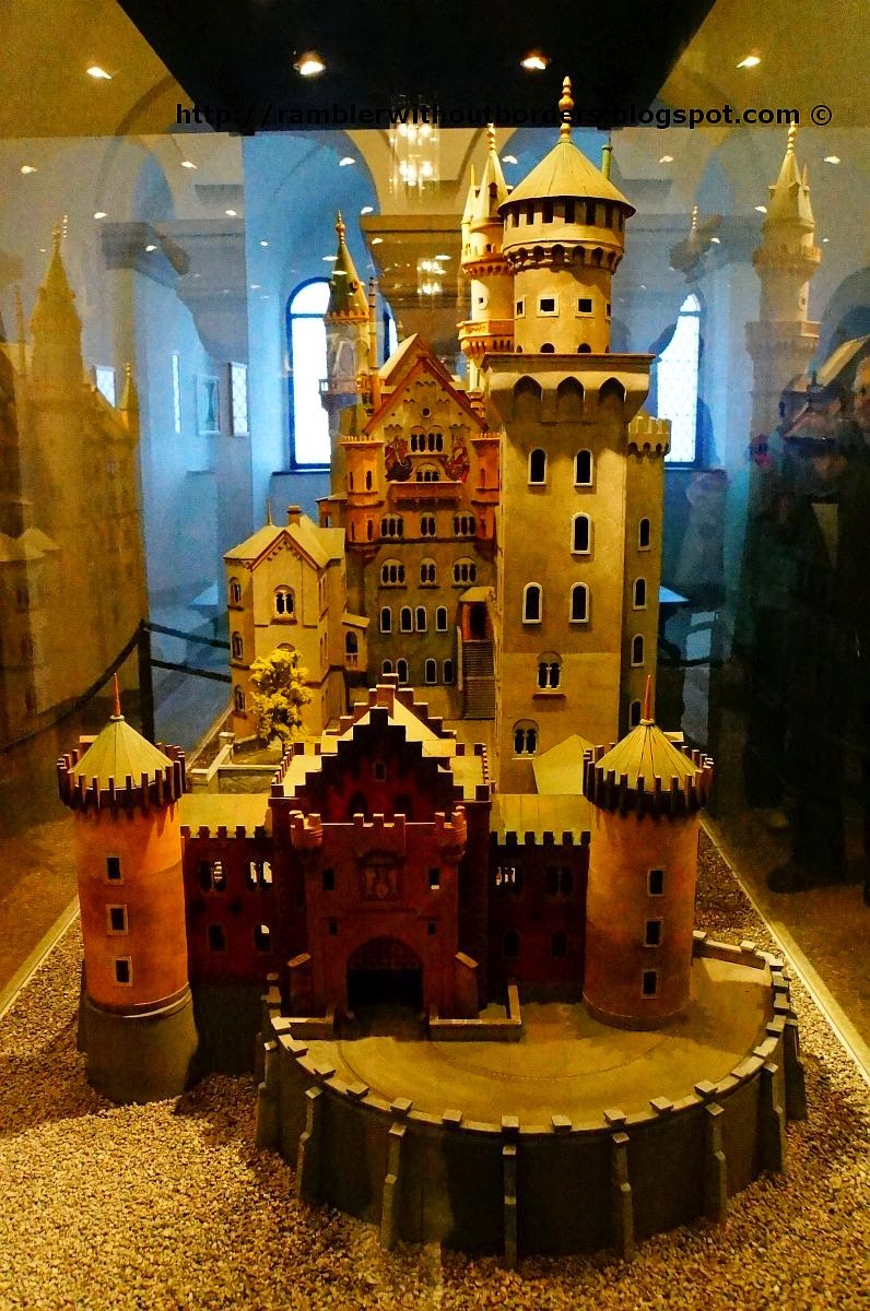 Model of Neuschwanstein Castle, Germany