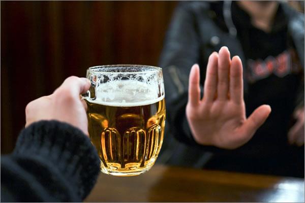 reducir el consumo de alcohol