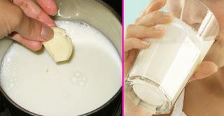 Mix Garlic And Milk