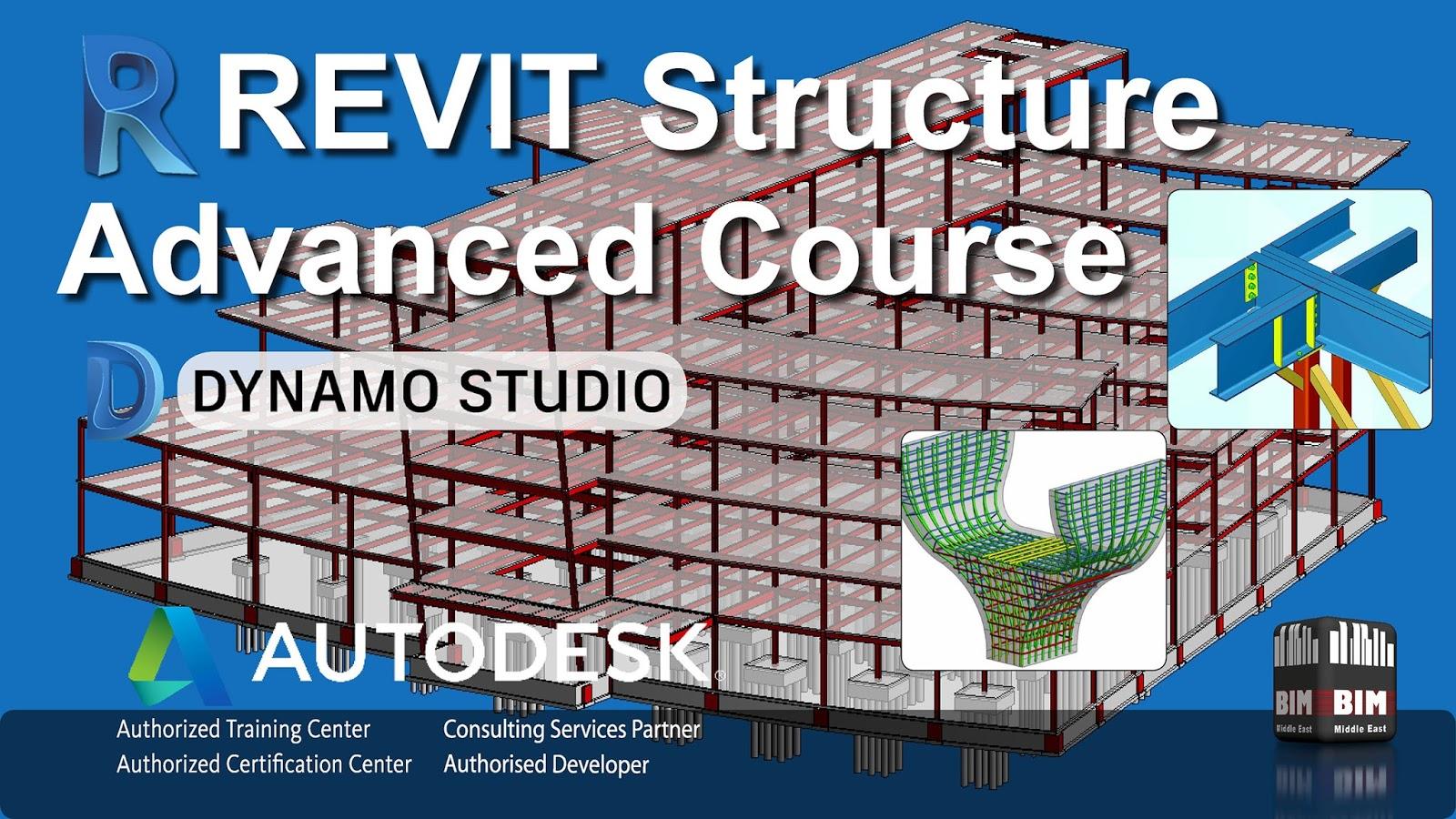 BIM-ME: Autodesk Revit Structure Advanced 2018 Training with Dynamo