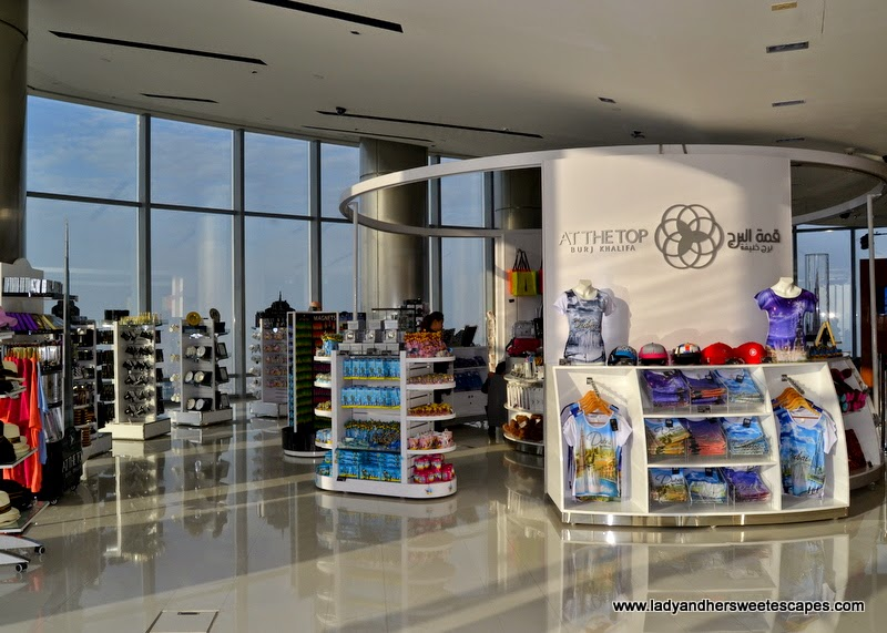 Burj Khalifa souvenir shop