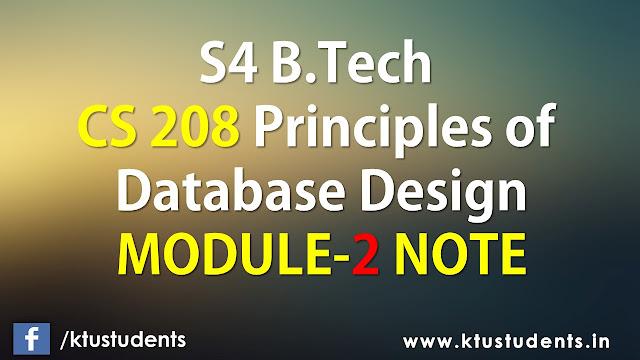 ktu cs208 note module2