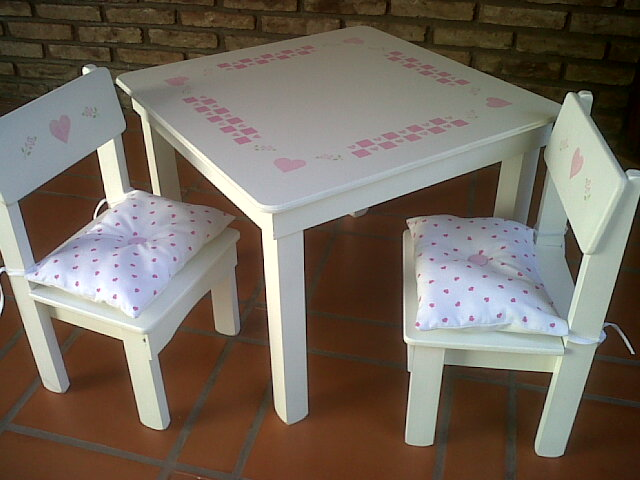 C mo decorar la casa sillas para chicos - Leroy merlin mesa y sillas jardin saint denis ...