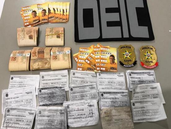 Suspeito de comprar voto é preso com R$ 5 mil na cueca em Marechal Deodoro/AL