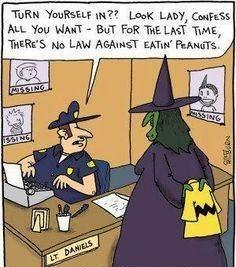 Adult halloween humor