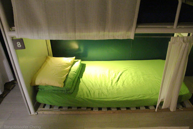 Bed in Yesinn Hostel, Causeway Bay