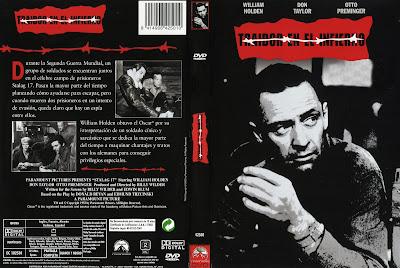 Traidor en el infierno 1953 - Carátula dvd