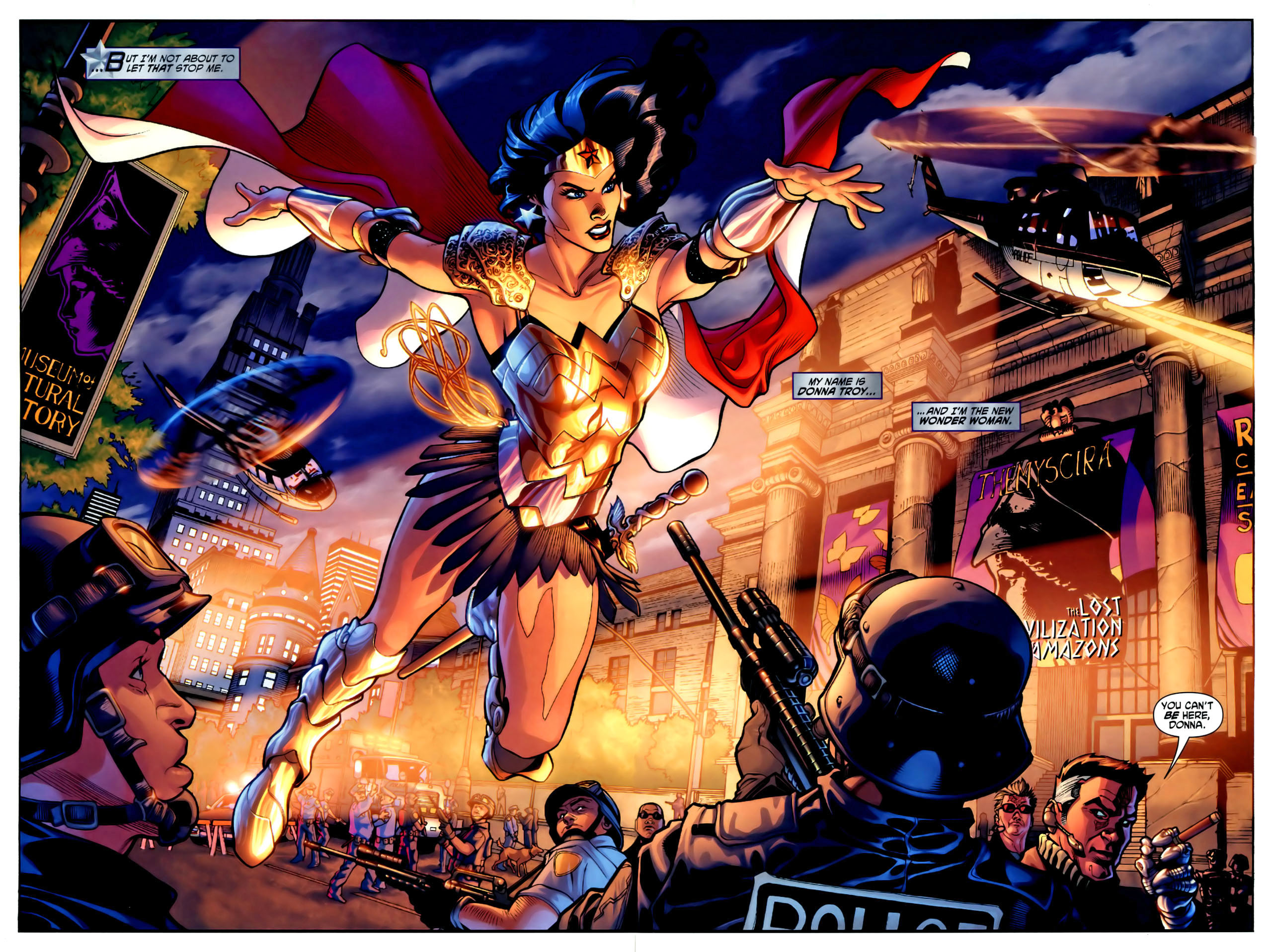 Read online Wonder Woman (2006) comic -  Issue #1 - 4
