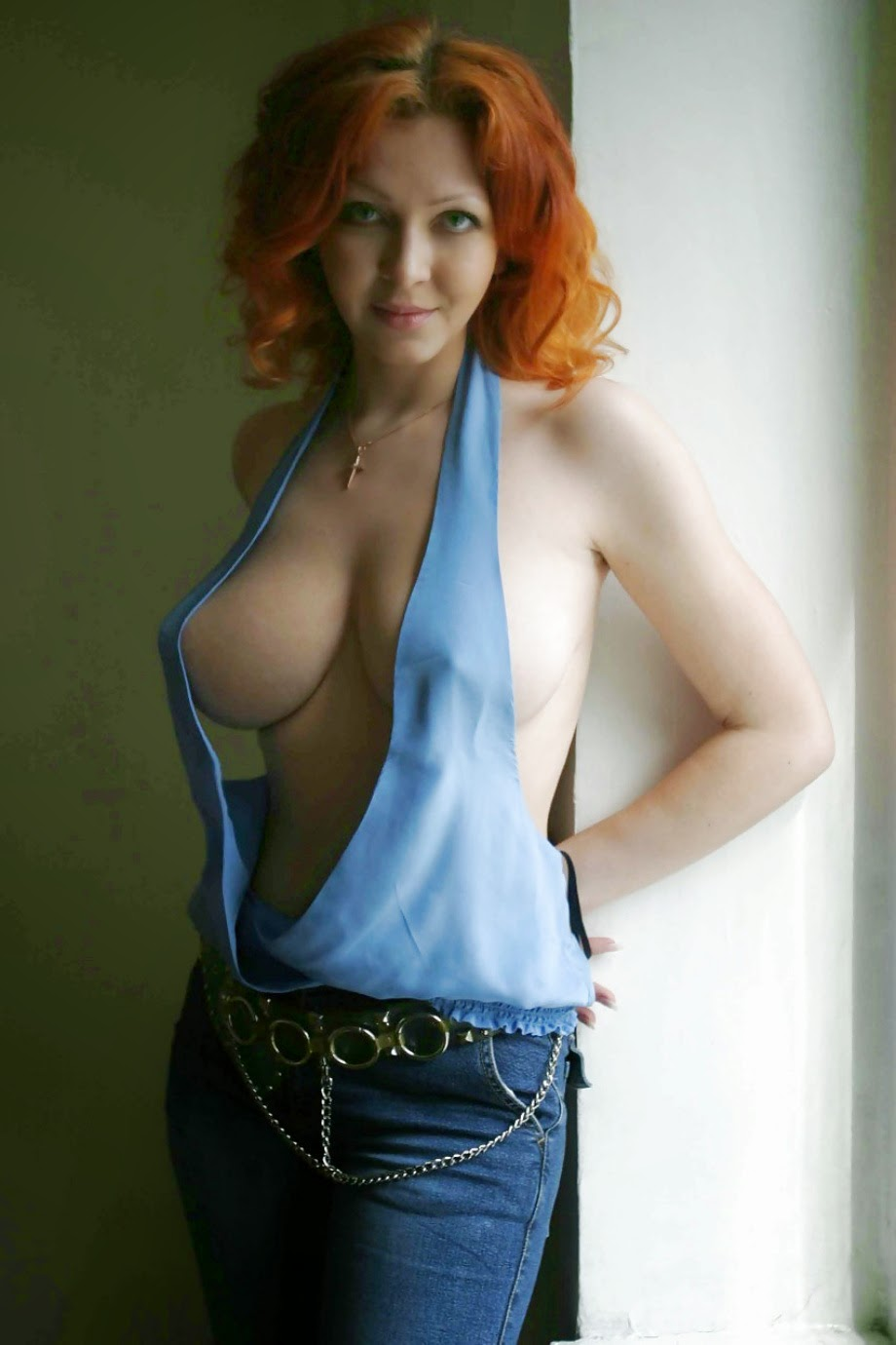Redhead mature wife