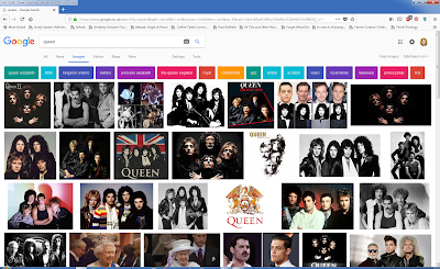 photos of the rock band, Queen