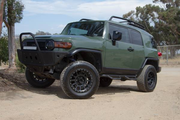 2011 Toyota FJ Cruiser Trail Team