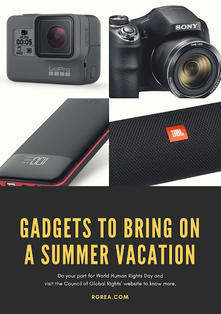 Top 5 Gadget to bring summer vacation