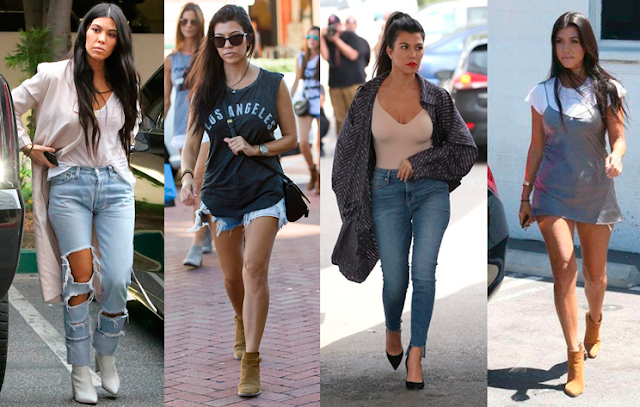 Estilo das famosas: Kourtney Kardashian