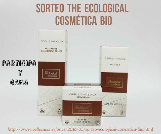 SORTEO The Ecological Cosmética BIO