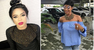 Bobrisky Urges Tonto Dikeh To Keep Up Her Good Works And Forget Haters