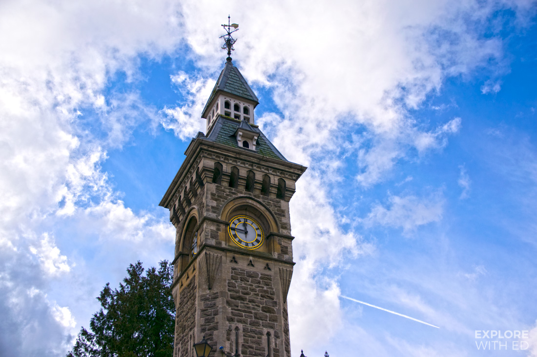 Hay-on-Wye clock tower