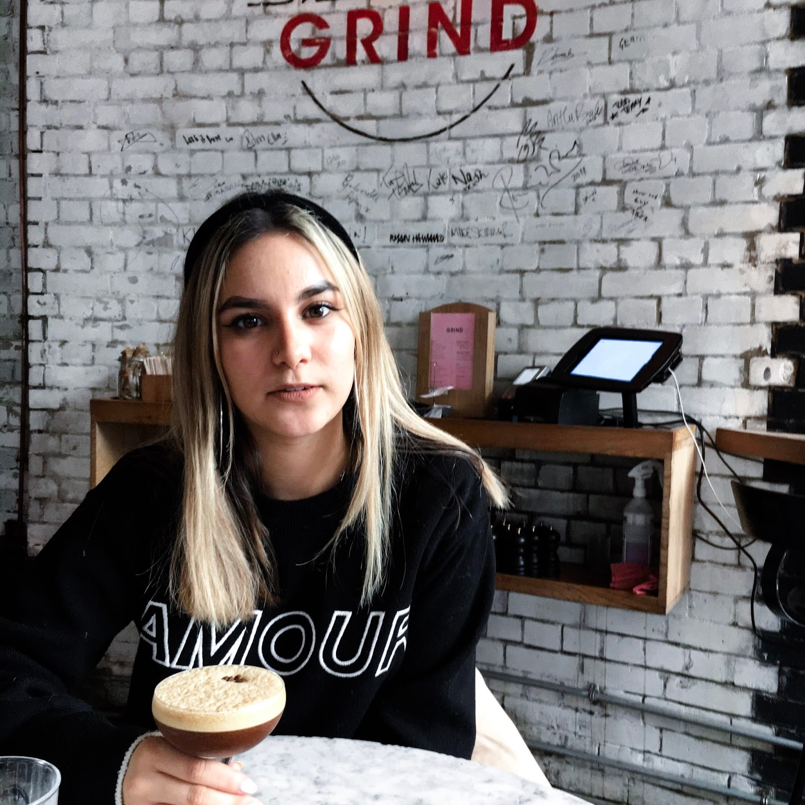 yasminstefanie shoreditch grind topshop amour slogan jumper