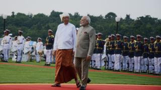 Why is India next to Myanmar on Rohingya issue?