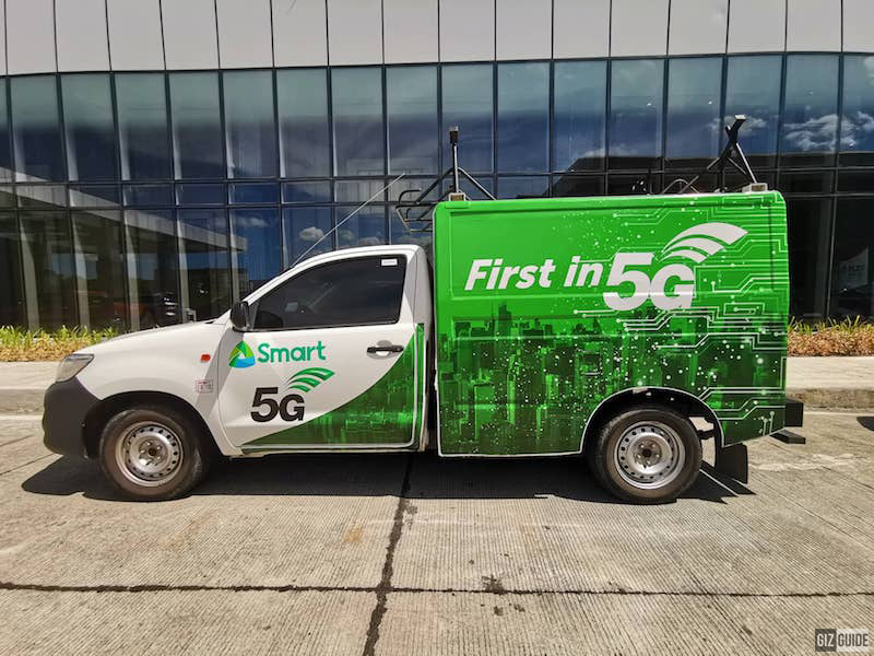 Smart 5G van spotted in Clark City