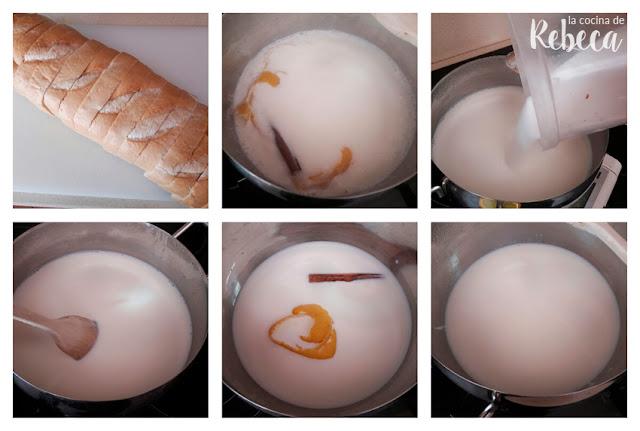 Receta de torrijas de leche: la infusión de leche
