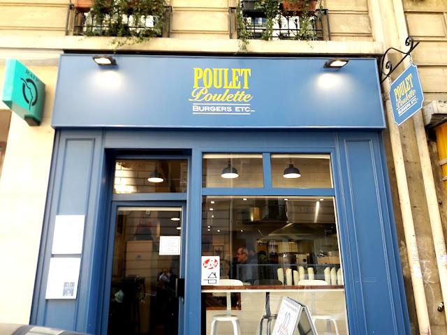 Poulet Poulette burger sandwiche poulet fermier label rouge fast-food fast-good restaurant paris montparnasse