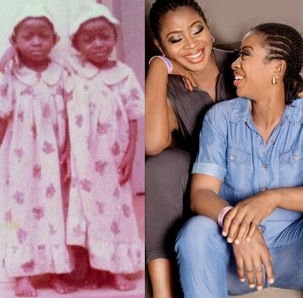 Nollywood  Twins Shows Very Old Picture