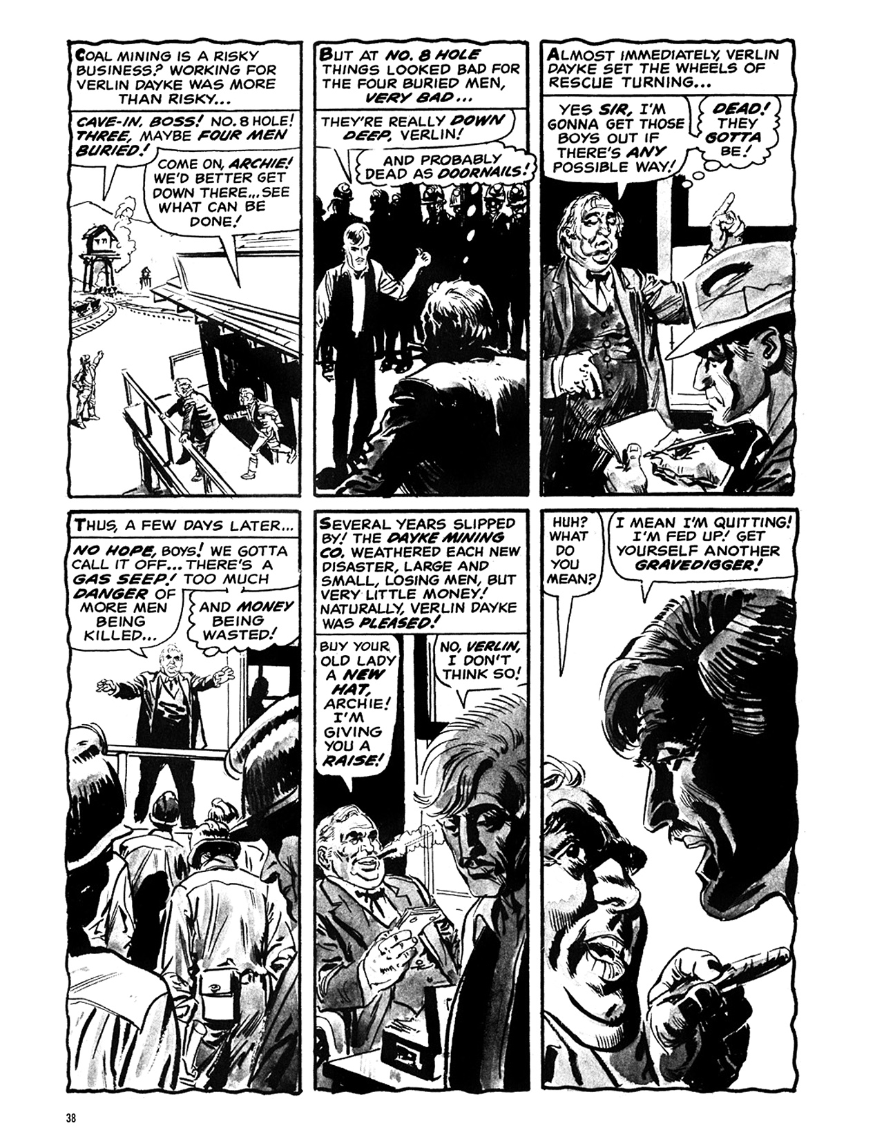 Read online Eerie Archives comic -  Issue # TPB 6 - 39