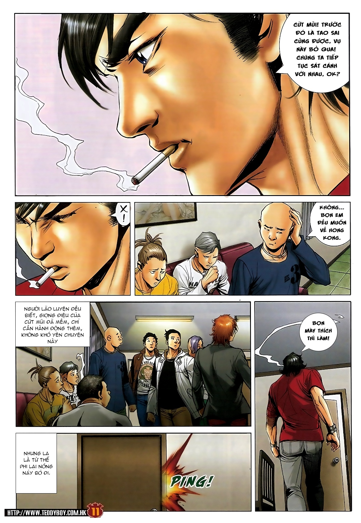 Người Trong Giang Hồ - Chapter 1572: Nam Phi khởi nghiệp - Pic 10
