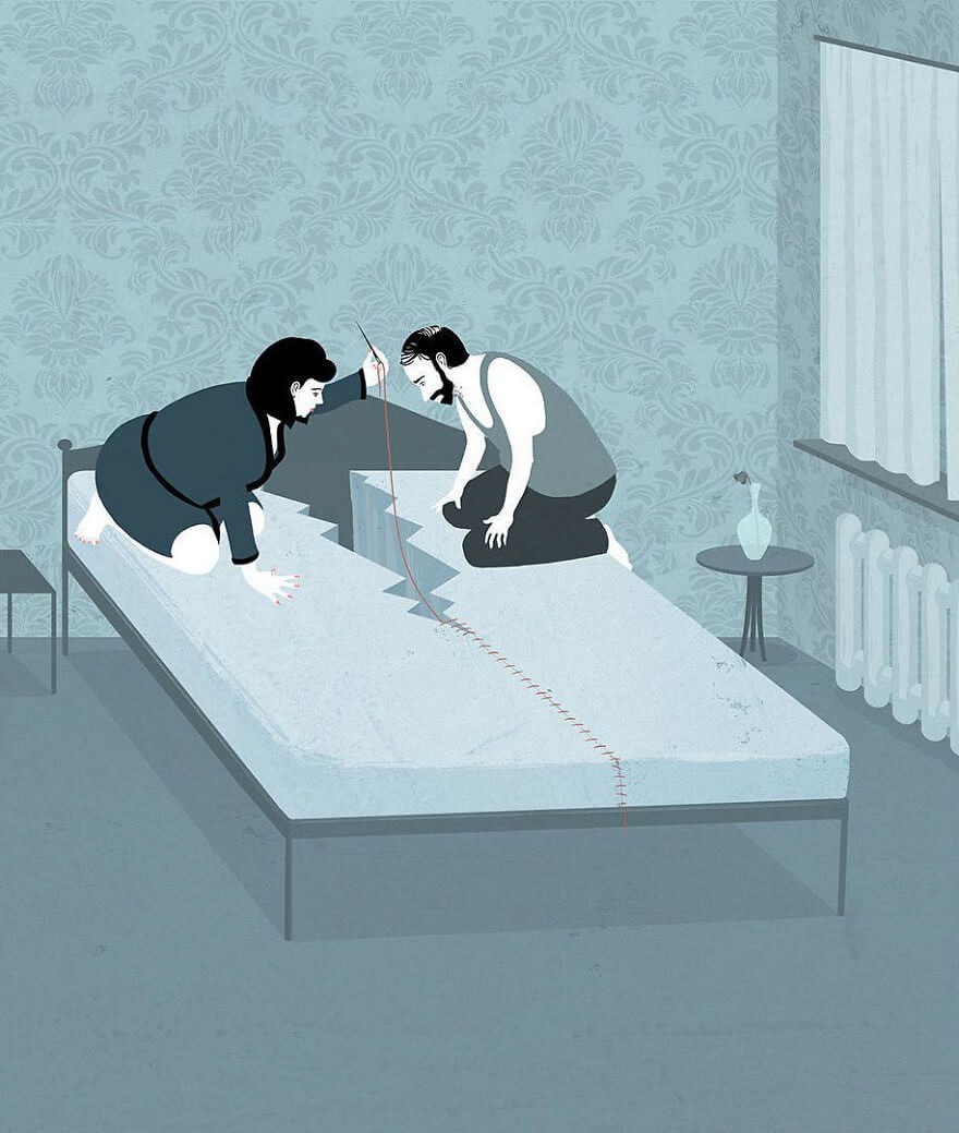 25 Sincere Illustrations Depict The Harsh Truth About The World We Live In