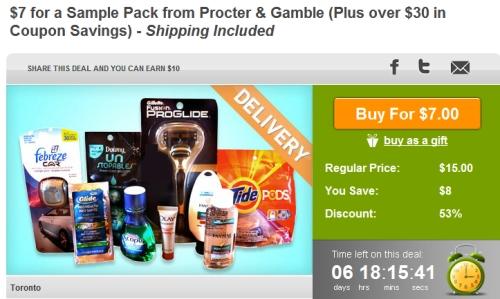 procter gamble coupons canada