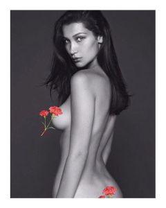 bella hadid instagram tanpa bra