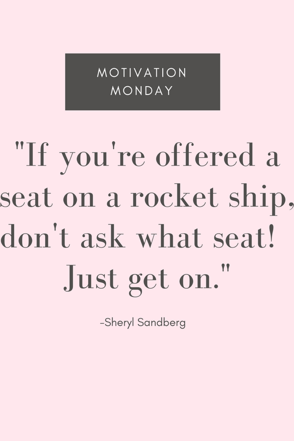 Sheryl Sandberg Rocket Quote